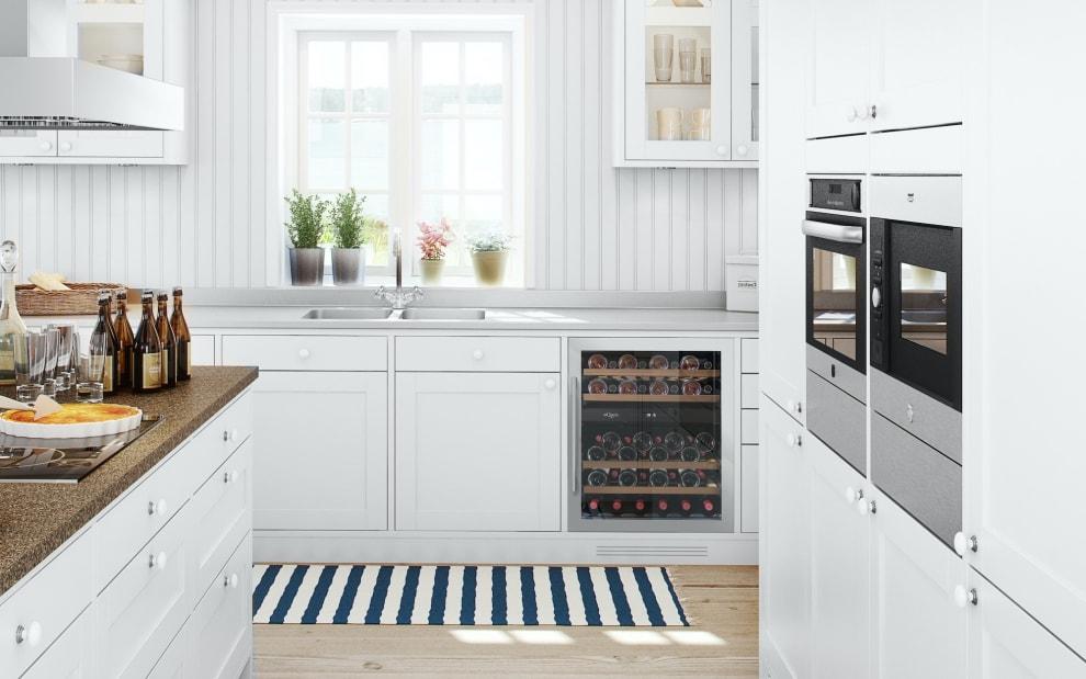 mQuvée Einbau-Weinkühlschrank - WineCave 700 60D Stainless