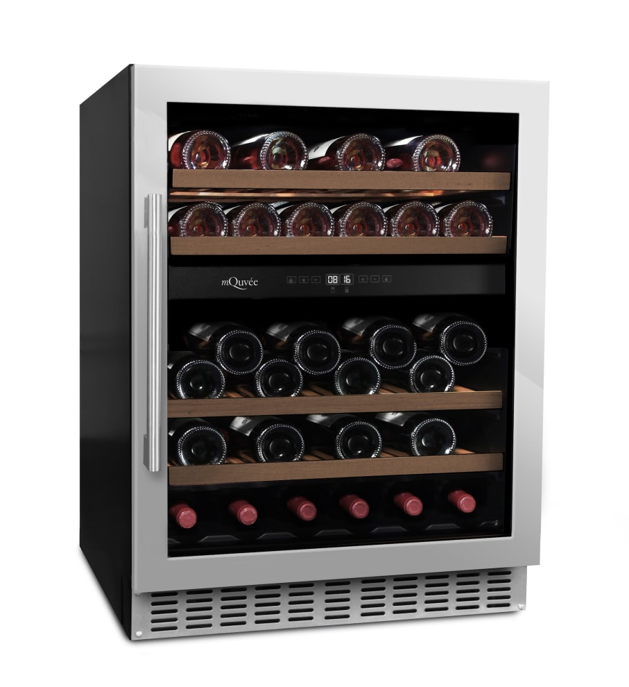 Vinoteca encastrable mQuvée - WineCave 700 60D Stainless