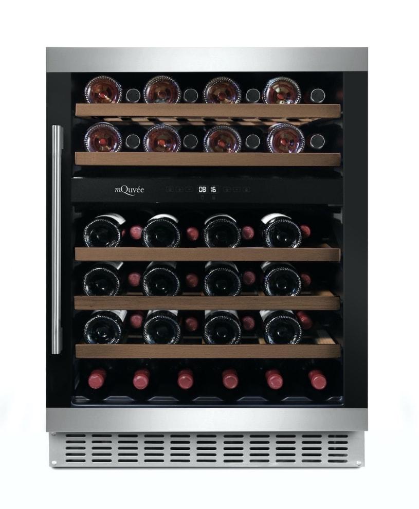 mQuvée Einbau-Weinkühlschrank - WineCave 60D Modern