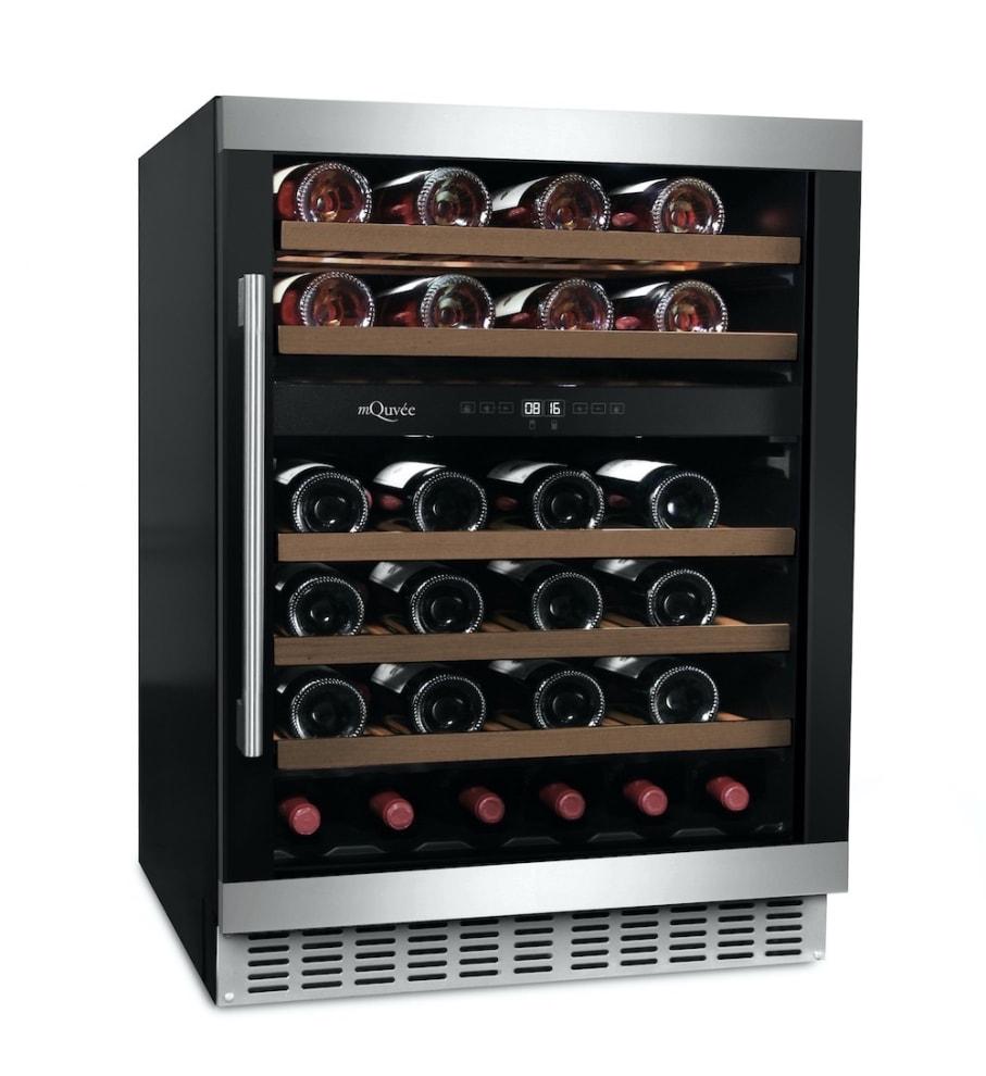 mQuvée Inbyggbar vinkyl - WineCave 60D Modern