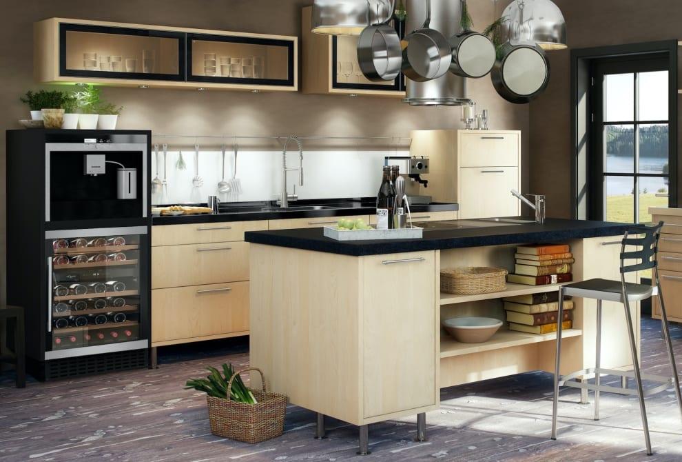 Einbau-Weinkühlschrank - WineCave 60D Modern