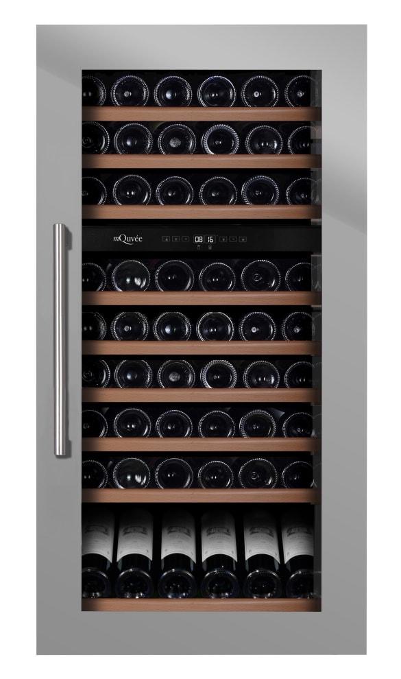 Integrerbart vinskap - WineKeeper 70D Stainless