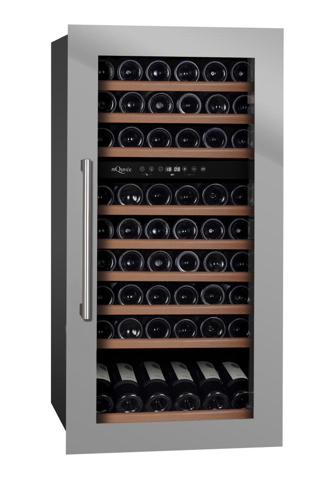 mQuvée Integrierbarer Weinkühlschrank - WineKeeper 70D Stainless