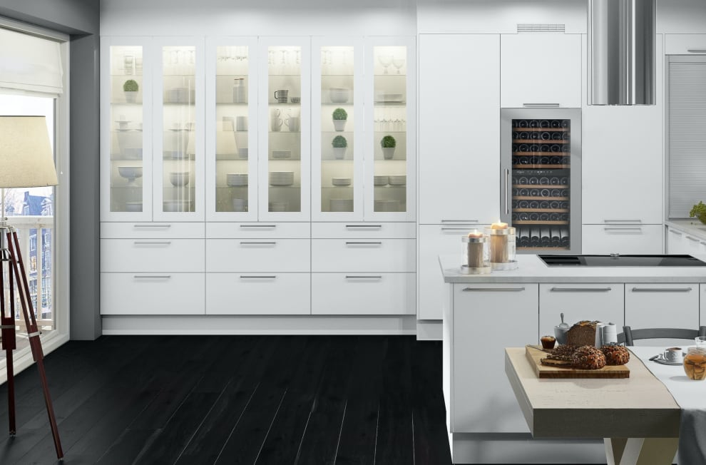 Integrierbarer Weinkühlschrank - WineKeeper 70D Stainless