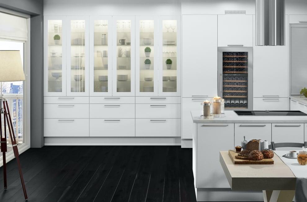 mQuvée integrérbart vinkøleskab - WineKeeper 70D Stainless