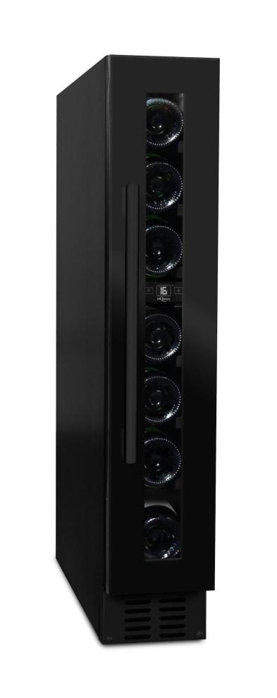 mQuvée innbyggbart vinskap - WineCave 15S Anthracite Black