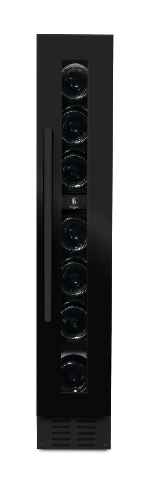 mQuvée Built-in wine cooler - WineCave 15S Anthracite Black