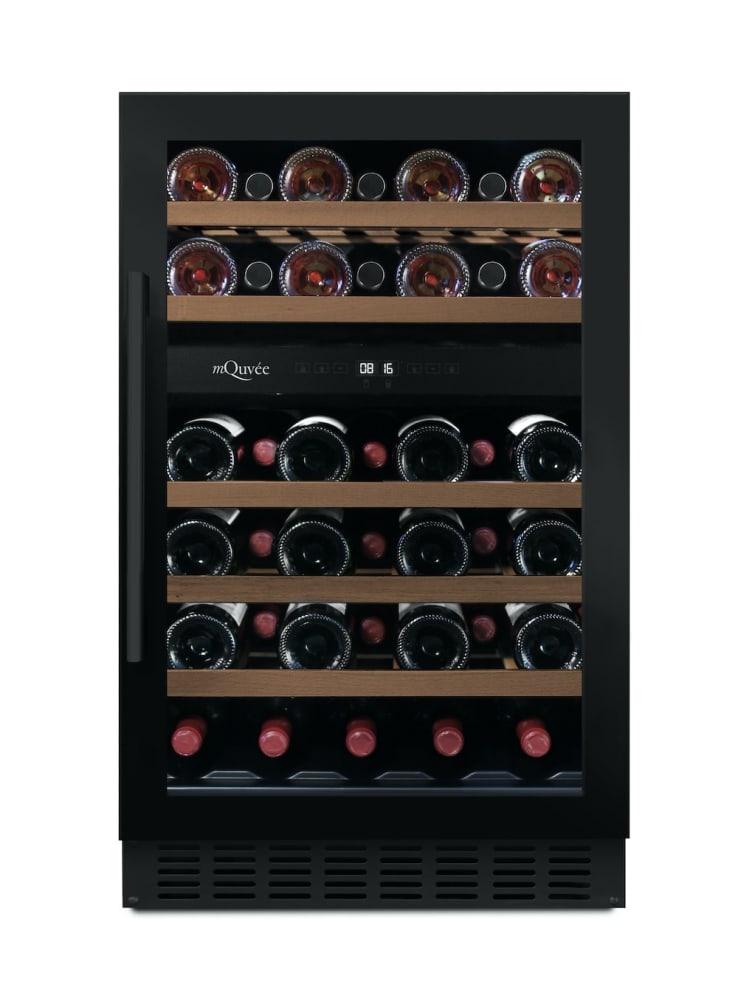 mQuvée Inbyggbar vinkyl - WineCave 700 50D Anthracite Black