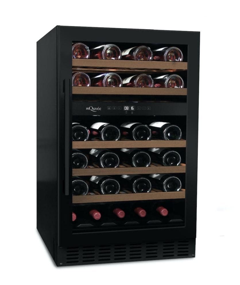 mQuvée Cantinetta vino da incasso - WineChamber 700 50D Anthracite Black