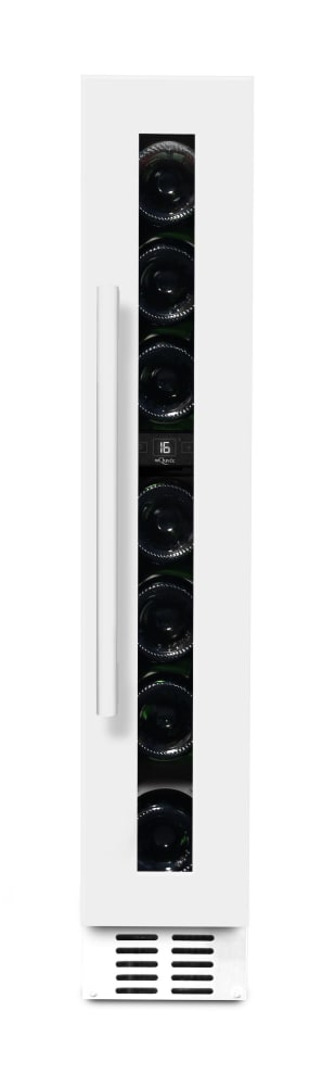 mQuvée built-in wine cooler - WineCave 15S Powder White