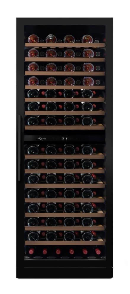 mQuvée Cantinetta vino da incasso -  WineChamber 187 Anthracite Black