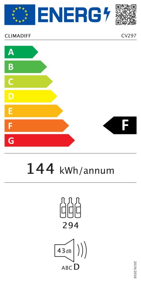 Climadiff Weinklimaschrank - CV297