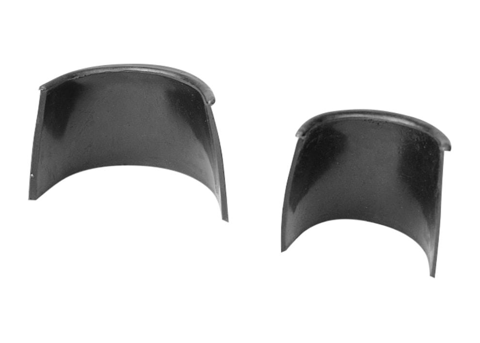 Kantbeskyttelse i plast til boldlommer, 3, 6-pak (sort)