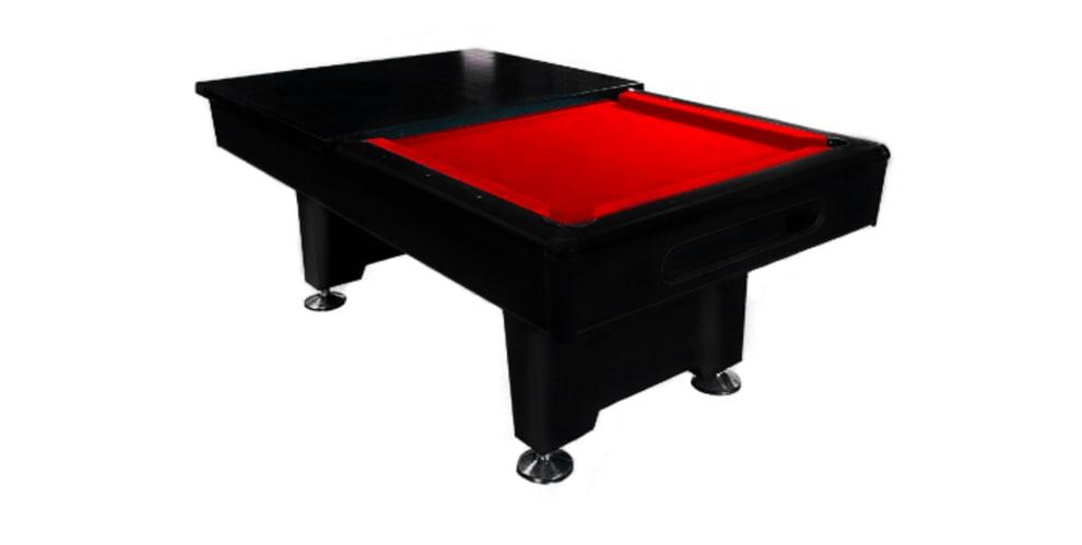 Table cover Dynamic Eliminator I/II 7 fot (Svart)