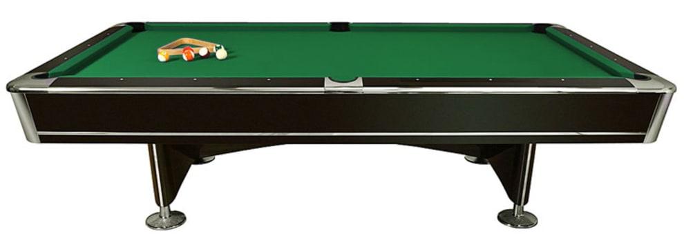 Biljardbord King II 9 fot Matchstorlek med ballretur - Grønn