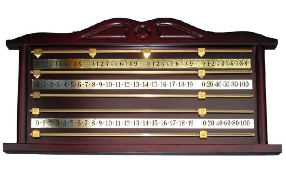 Snooker pointtavle - maghogni