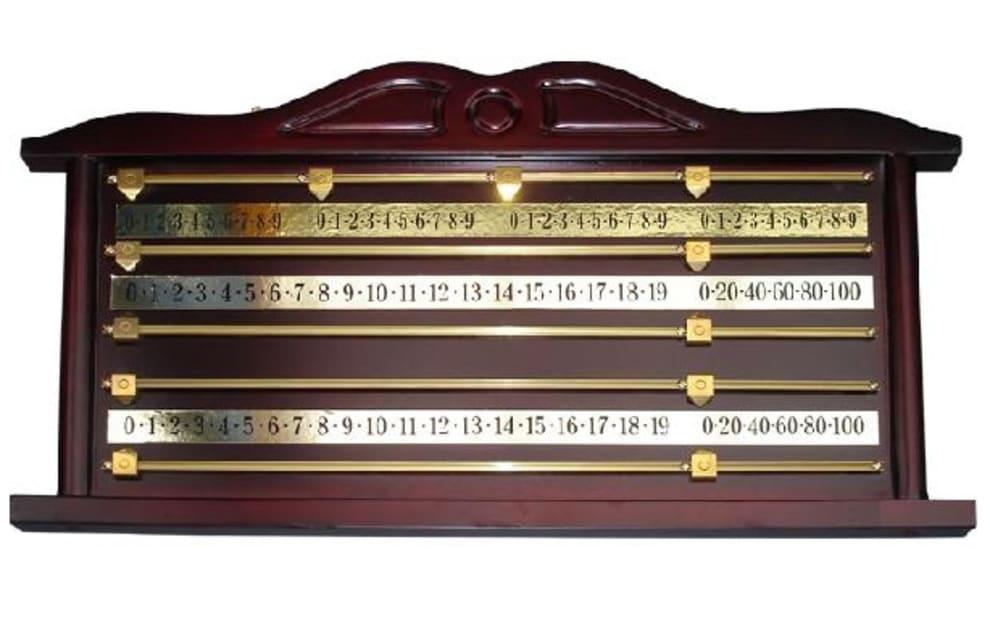 Snooker resultattavle - Mahogny