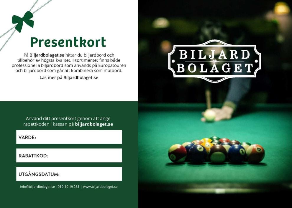 Presentkort 3500 kr