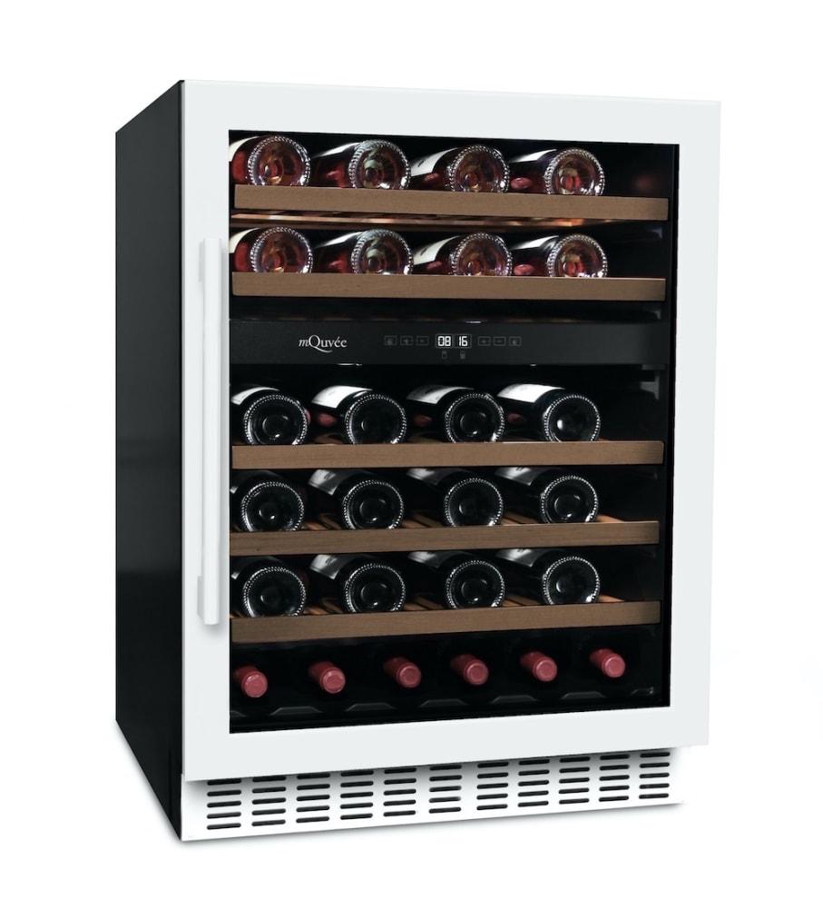 mQuvée Sisäänrakennettava viinikaappi – WineCave 60D Powder White
