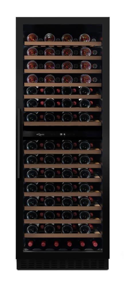 mQuvée Sisäänrakennettava viinikaappi - WineCave Exclusive 187 Anthracite Black