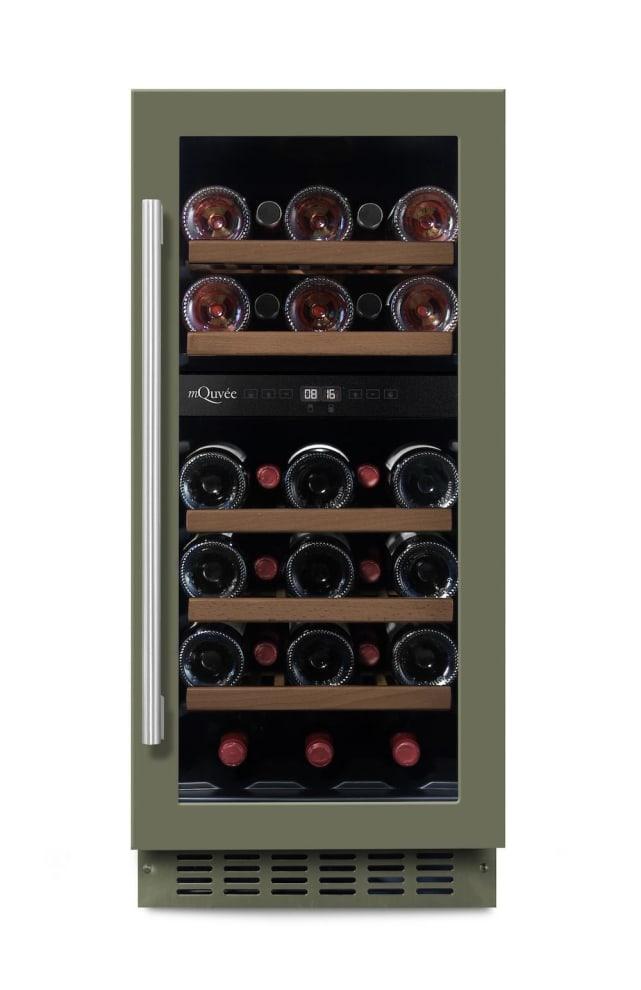 mQuvée Sisäänrakennettava viinikaappi – WineCave 700 40D Custom Made