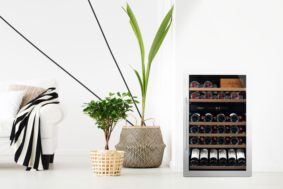 mQuvée Free-standing wine cooler - WineServe 49 Stainless