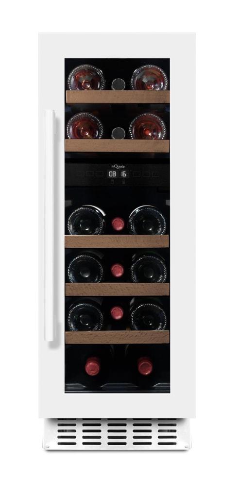 mQuvée Einbau-Weinkühlschrank - WineCave 30D Powder White