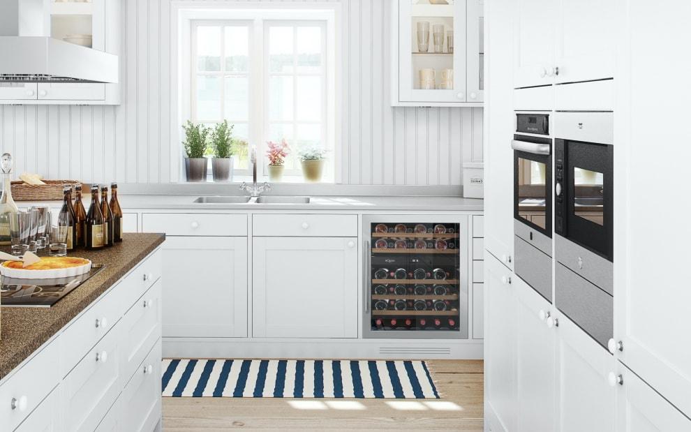 Einbau-Weinkühlschrank - WineCave 60D Stainless