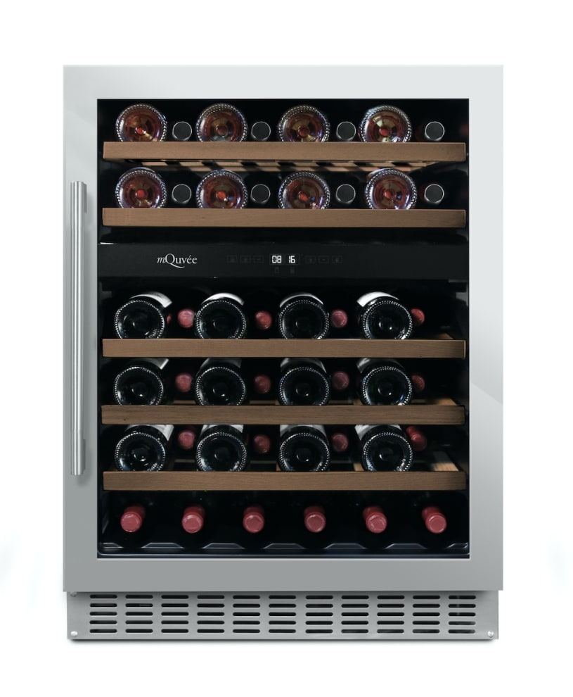 Vinoteca encastrable mQuvée - WineCave 60D Stainless