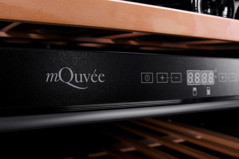 mQuvée Einbau-Weinkühlschrank - WineCave 60D Stainless