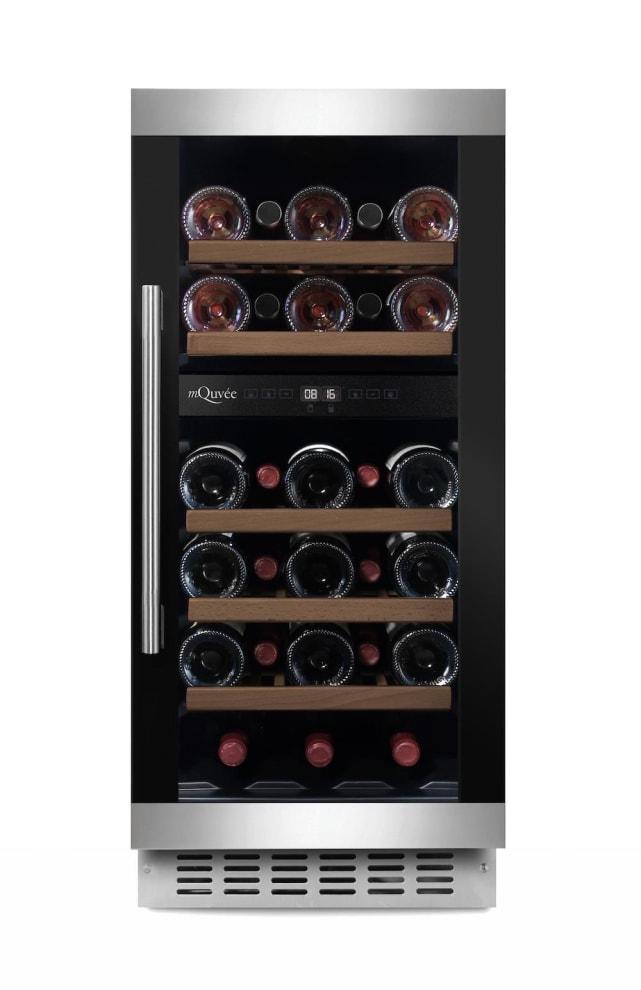 mQuvée Einbau-Weinkühlschrank - WineCave 700 40D Modern