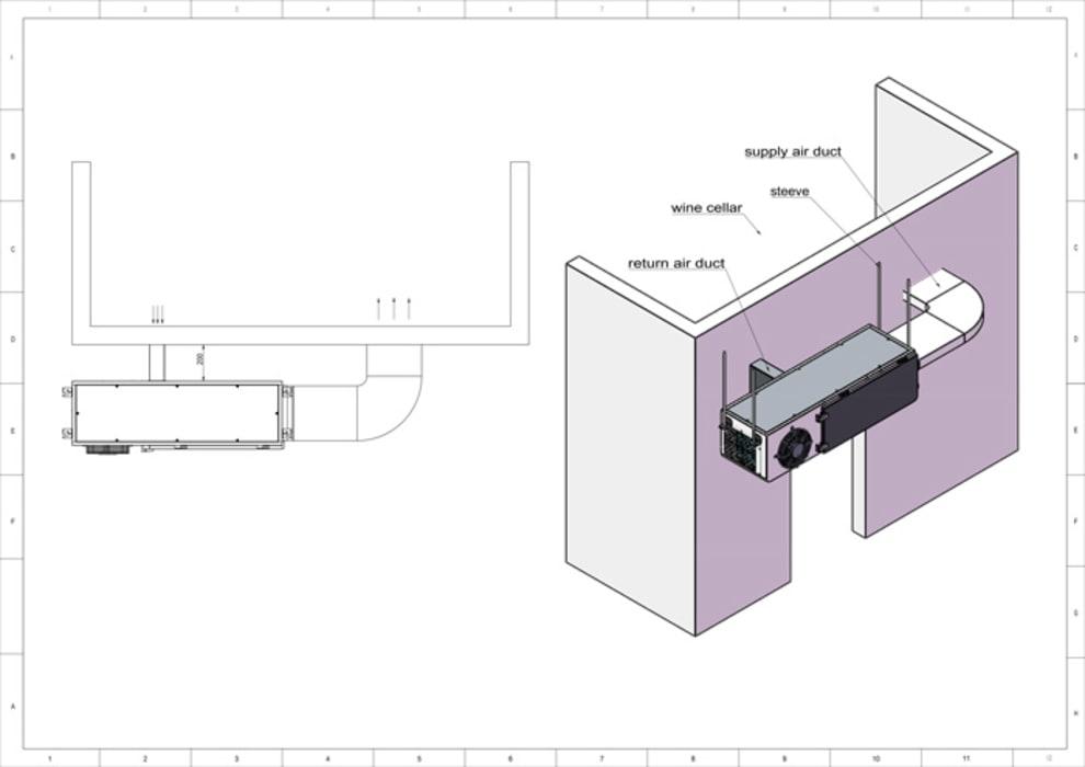 mQuvée Wine room cooling system - WineCellar 5