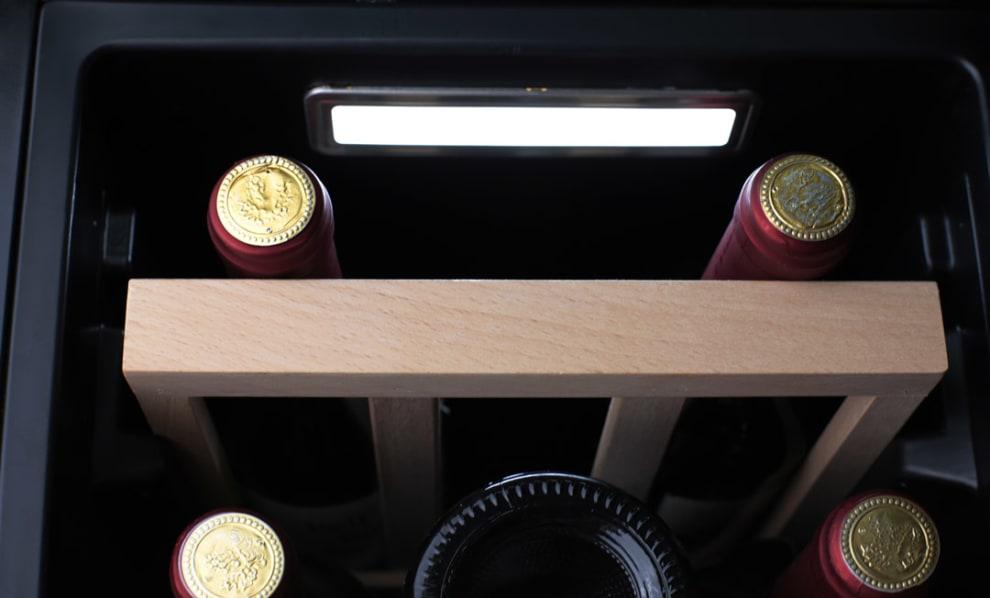 Cavin Cave à vin encastrable - Scandinavian Collection 30 Fullglass Black