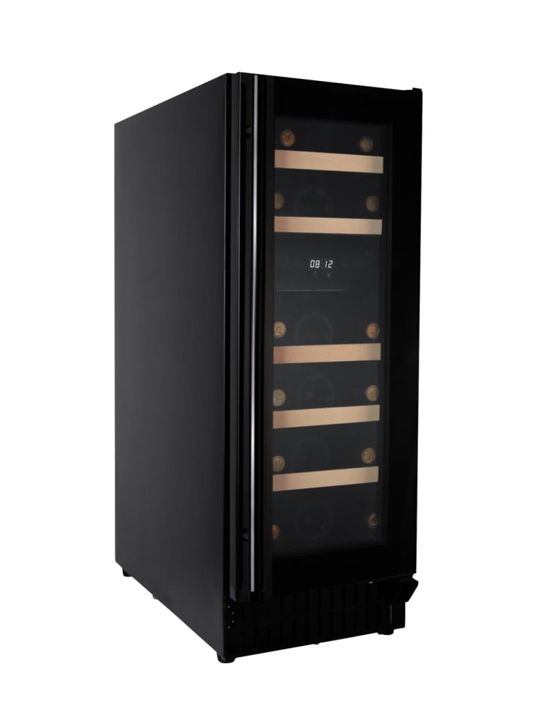 Inbyggbar vinkyl - Scandinavian Collection 30 Fullglass Black