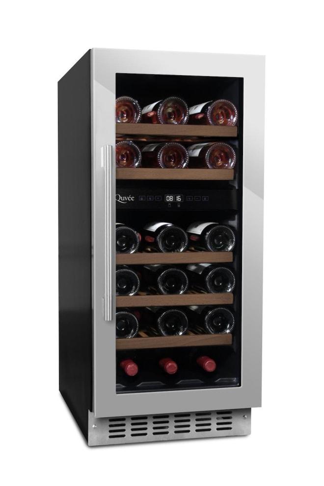 mQuvée Sisäänrakennettava viinikaappi – WineCave 700 40D Stainless