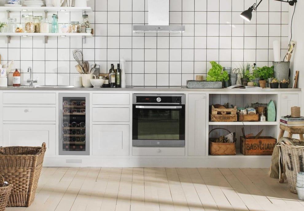 Vinkøleskab til indbygning - WineCave 700 40D Stainless