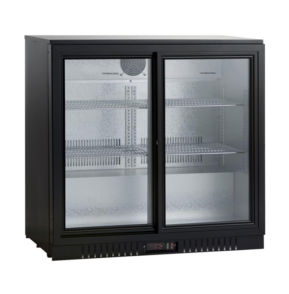 Dobbelt barkøleskab 188 L
