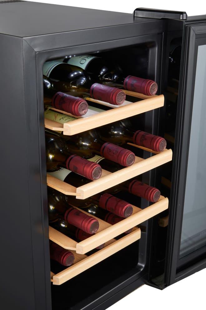 Cavin Vapaastiseisova termosähköinen viinikaappi - Northern Collection 15 Black