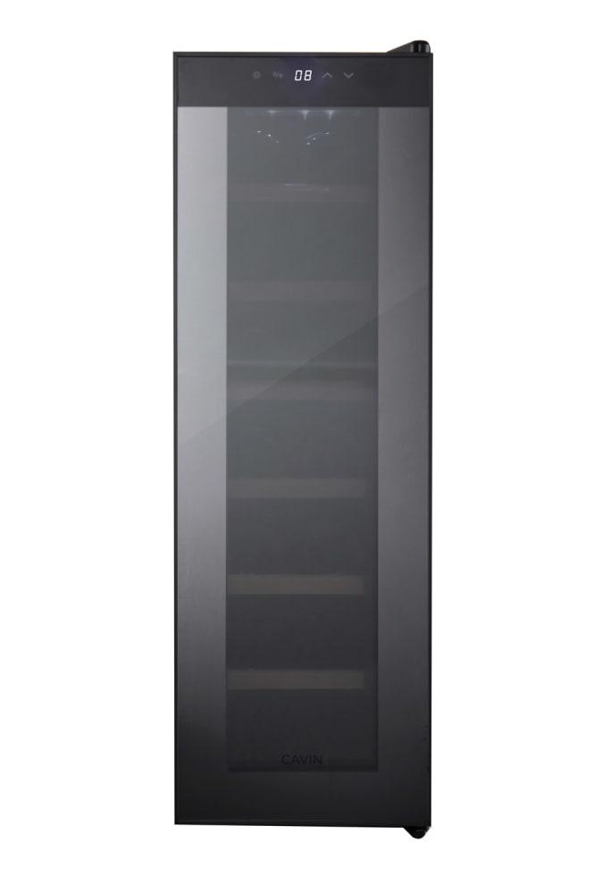 Cavin Freistehender thermoelektrischer Weinkühlschrank - Northern Collection 14 Black