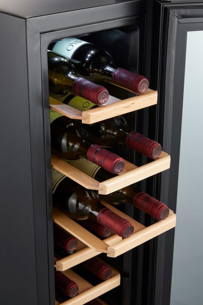 Cave à vin thérmoelectrique à pose libre - Northern Collection 14 Black