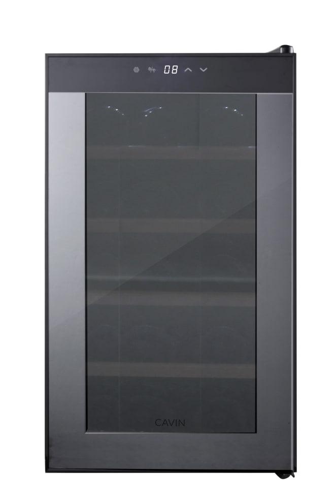 Cavin Freistehender thermoelektrischer Weinkühlschrank - Northern Collection 15 Black