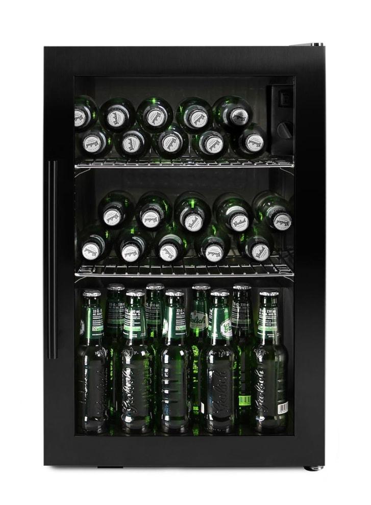 Fritstående ølkøleskab - Arctic Collection 63 liter Sort