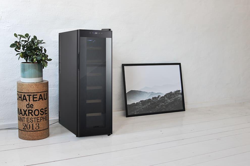 Cavin Fristående termoelektrisk vinkyl - Northern Collection 14 Black