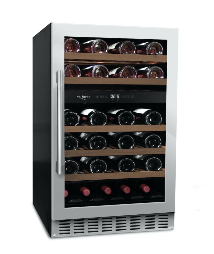 Innbyggbart vinskap - WineCave 700 50D Stainless