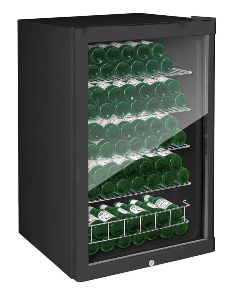 Cavin Vapaasti seisova olutkaappi - Polar Collection 115 L musta
