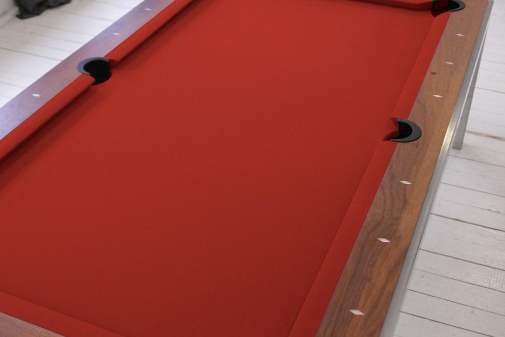 Billardbeklædning Rød
