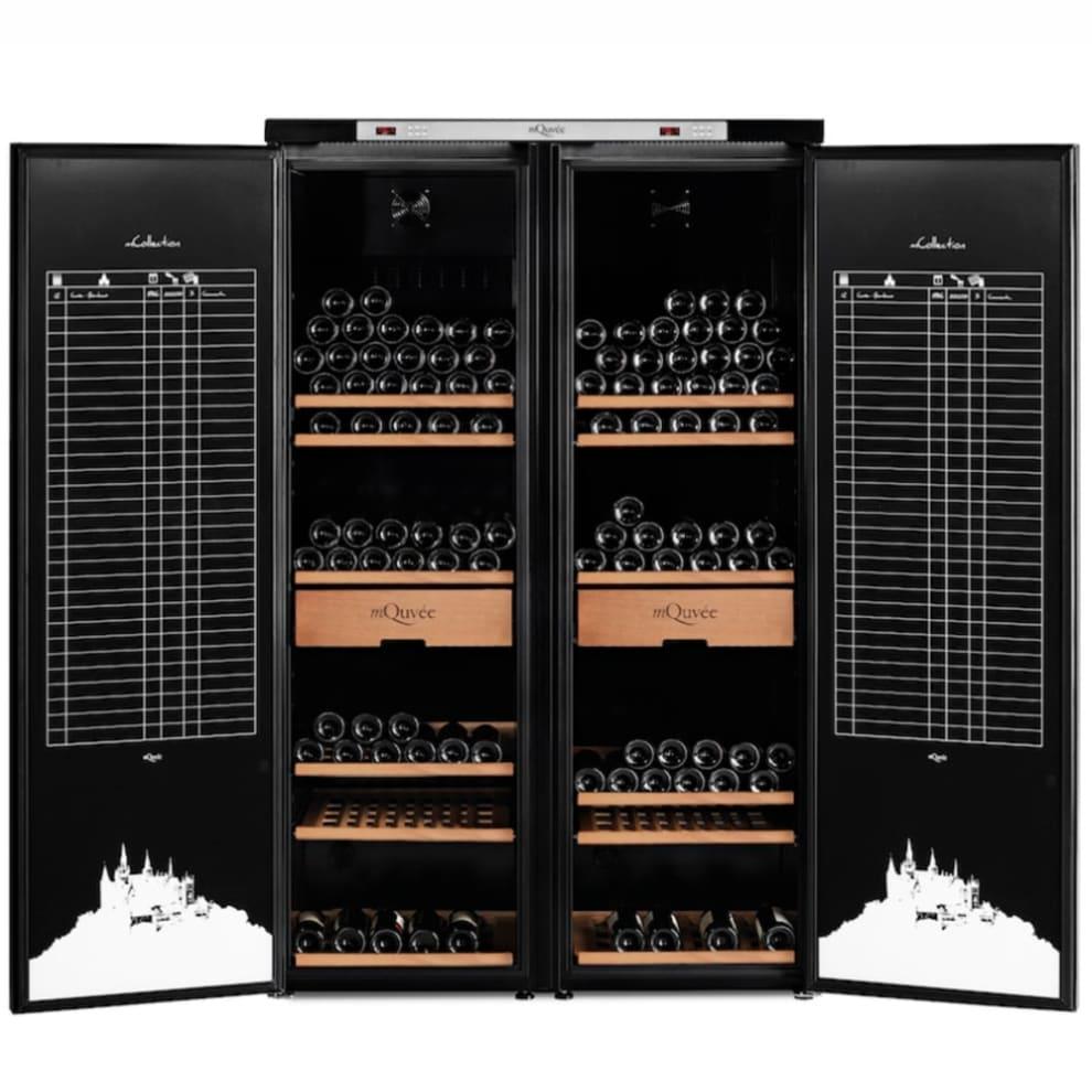 mQuvée viinien varastointikaappi – WineStore 1200