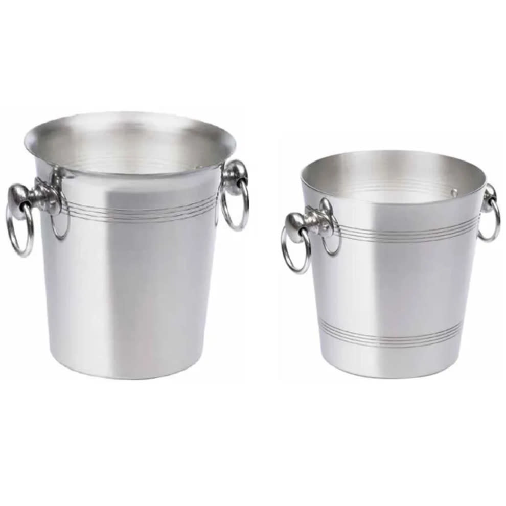 Eis-Weinkühler Poliertes Aluminium