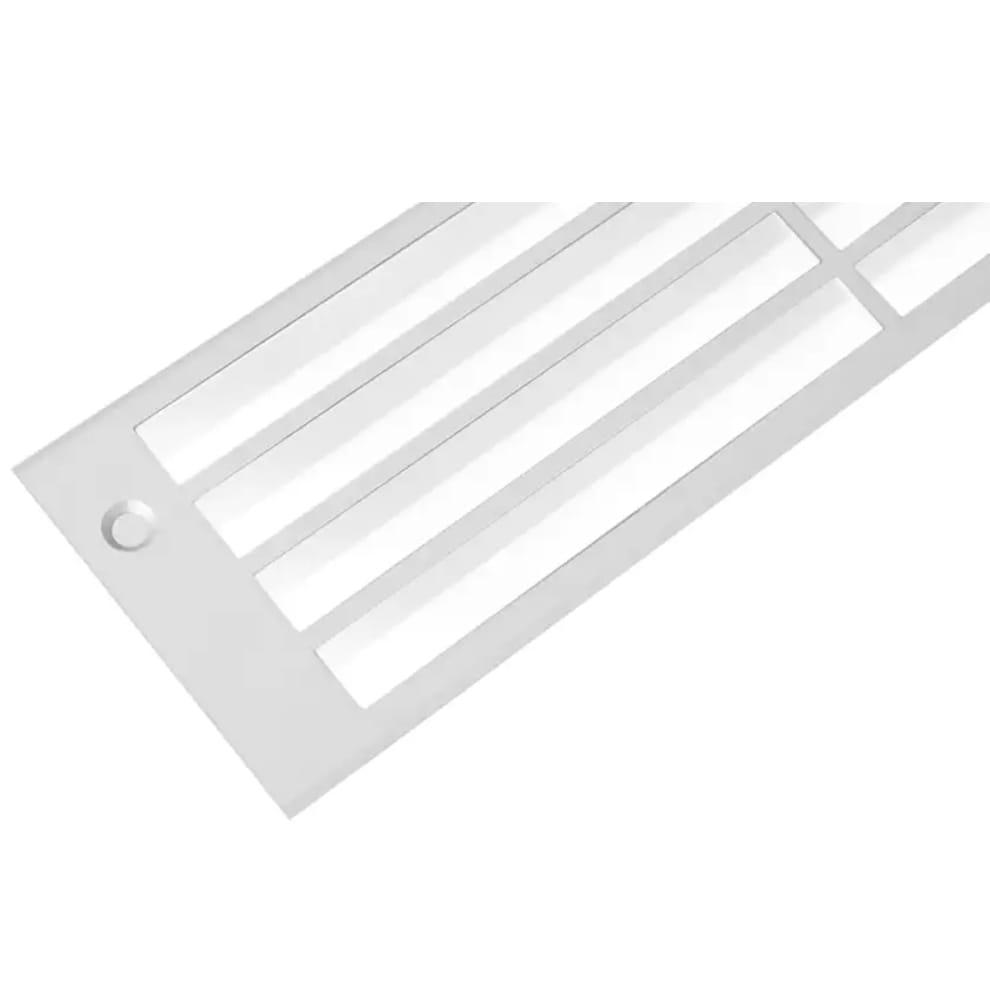 Rejilla de ventilación - aluminio (250 x 80 mm)