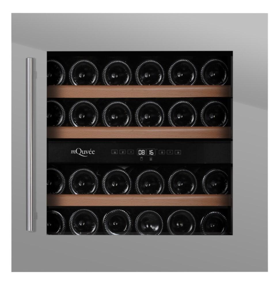 Integroitava viinikaappi - WineMaster 36D Stainless